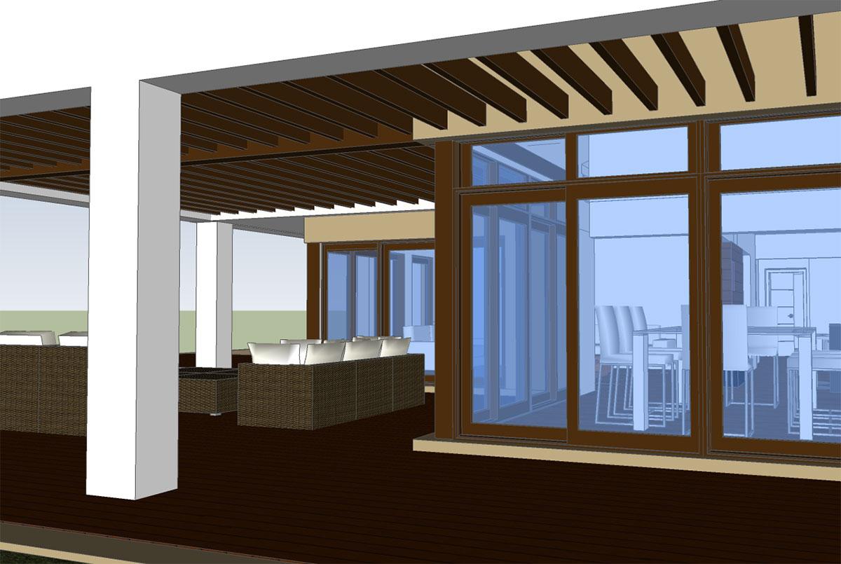 Villa redesign extension mijas golf blueray design for Extension villa