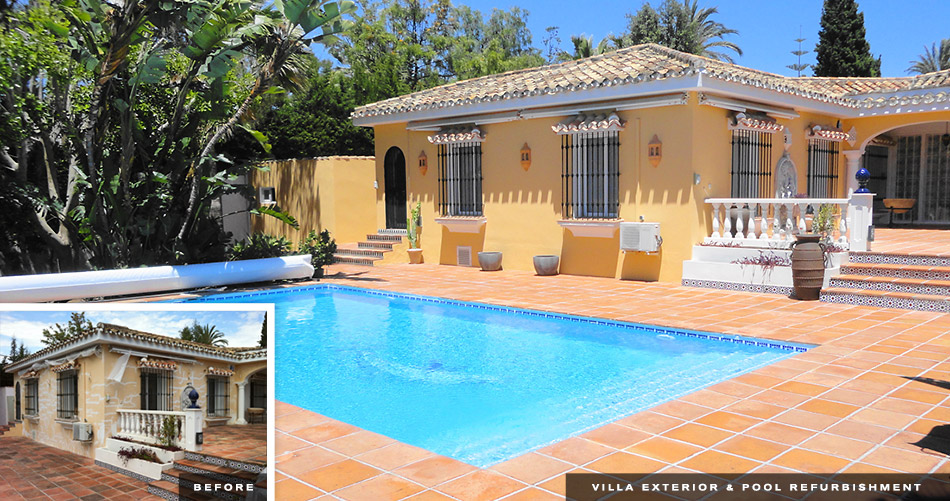 Villa Refurbishment - Refurbishments Costa del Sol